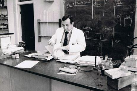 Jim Teaching in 1976